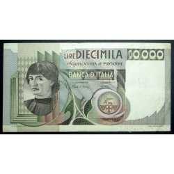 10.000 Lire Del Castagno 1980