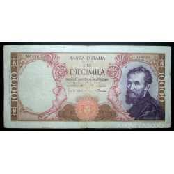 10.000 Lire Michelangelo 1968