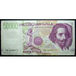 50.000 Lire Bernini II 1997