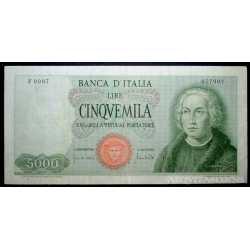 5000 Lire 1970 Colombo 1 Caravella