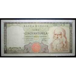 50.000 Lire 1967 Leonardo