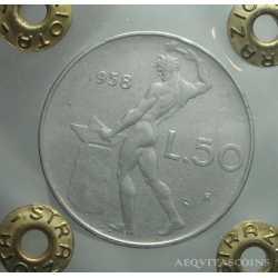 50 Lire 1958