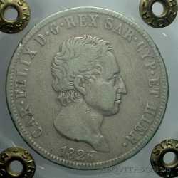 Carlo Felice - 5 Lire 1826 To