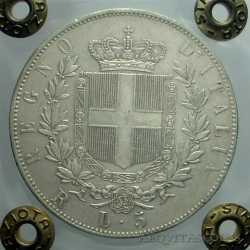 Vitt. Eman. II - 5 Lire 1876 R