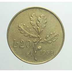 20 Lire 1958