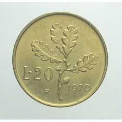 20 Lire 1970