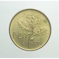 20 Lire 1971
