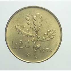 20 Lire 1972