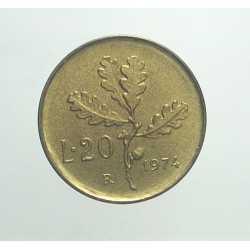 20 Lire 1974