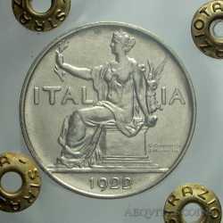Vitt. Eman. III - 1 Lira 1922