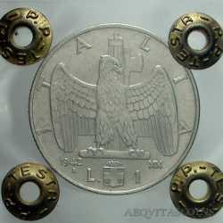 Vitt. Eman. III - 1 Lira 1942 A.S.