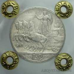 Vitt. Eman. III - 2 Lire 1912
