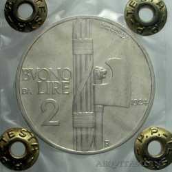 Vitt. Eman. III - 2 Lire 1924 A.S.