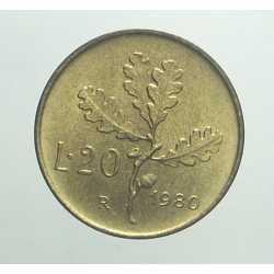 20 Lire 1980