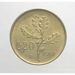20 Lire 1981