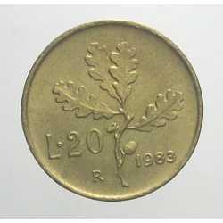 20 Lire 1983