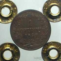 Umb. I - 1 Cent 1897 R Rara