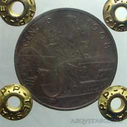 Vitt. Eman. III - 5 Cent 1908 R