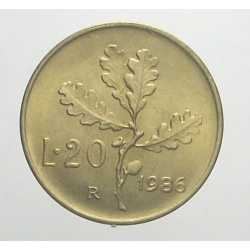 20 Lire 1986