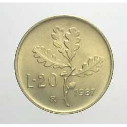 20 Lire 1987