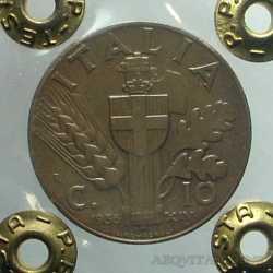 Vitt. Eman. III - 10 Cent 1936 NC