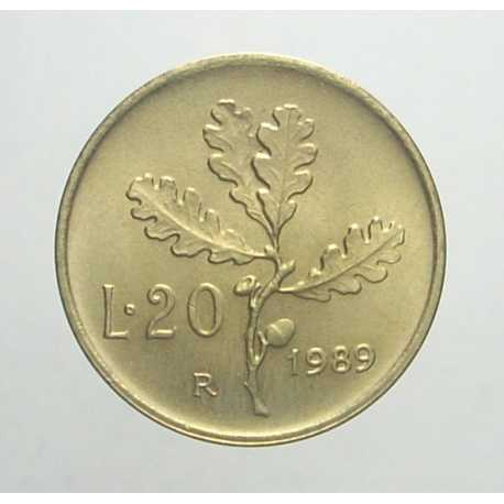 20 Lire 1989