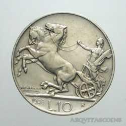 Vitt. Eman. III - 10 Lire 1928 - 1 Ros.