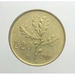 20 Lire 2001