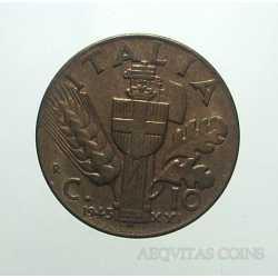 Vitt. Eman. III - 10 Cent 1943
