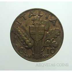 Vitt. Eman. III - 10 Cent 1941