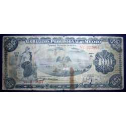 Mexico - 100 Pesos 1914 Provisional
