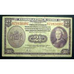 Netherlands - Indies 2 1/2 Gulden 1943