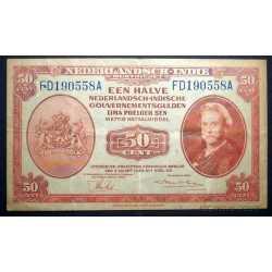 Netherlands - Indies 50 Cents 1943
