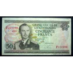 Luxembourg - 50 francs 1972