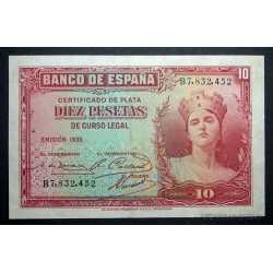 Espana - 10 Pesetas 1935