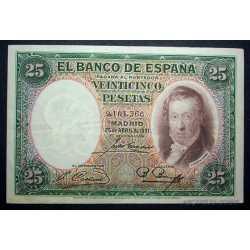 Espana - 25 Pesetas 1931