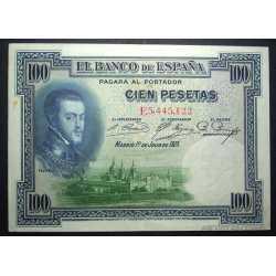 Espana - 100 Pesetas 1925