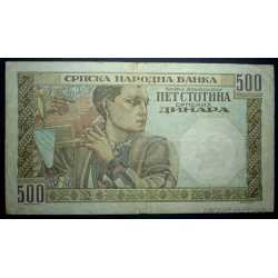 Serbia - 500 Dinara 1941