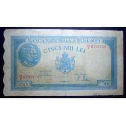 Romania - 5.000 Lei 1945