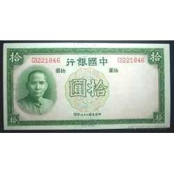 China - 10 Yuan 1937