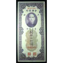 China - 50 Customs 1930