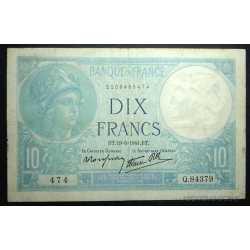 France - 10 Francs 1941