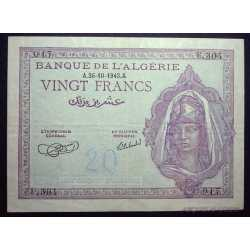 Algeria - 20 Francs 1943