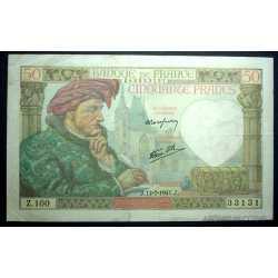 France - 50 Francs 1941