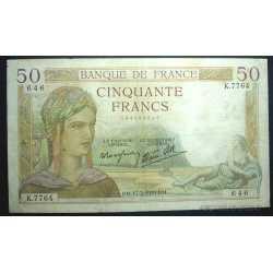 France - 50 Francs 1938