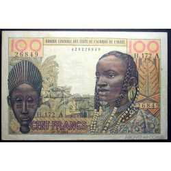 Costa d'Avorio - West African - 100 Francs 1961