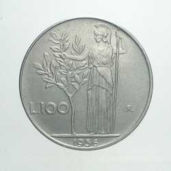 100 Lire 1956