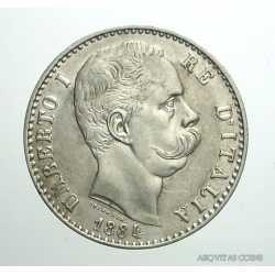 Umberto I - 2 Lire 1884