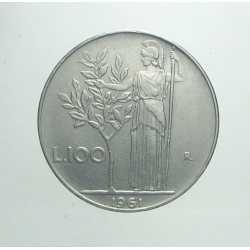 100 Lire 1961