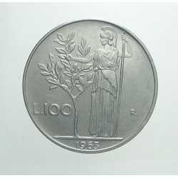100 Lire 1963